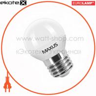 LED лампа G45 4.5W 3000K 220V E27 CR Maxus