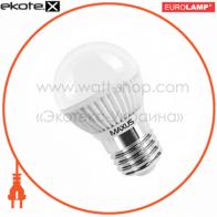 LED лампа G45 3,7W 5000K 220V E27 Maxus
