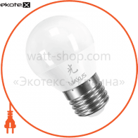 LED лампа 5W теплый свет G45 Е27 220V (1-LED-365)