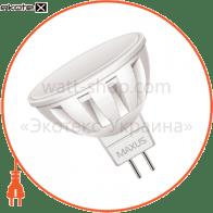 LED лампа 4W теплый свет MR16  GU5.3  220V (1-LED-295)