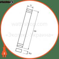 eurolamp led світильник лінійний ip65 17w 6500k (0.6m)