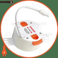 світильник світлодіодний s550 50w 3000-6000k 220v dds r светодиодные светильники intelite Intelite 1-SMT-101R