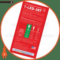 led лампа 10w теплый свет а60 е27 220v (1-led-287) светодиодные лампы maxus Maxus 1-LED-287