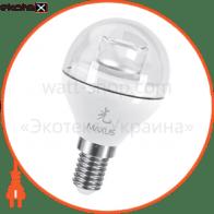 LED лампа MAXUS 4W теплый свет G45 Е14 (1-LED-431)