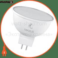 LED лампа 4W яркий свет MR16  GU5.3  220V (1-LED-404)