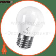 LED лампа 5W теплый свет G45 Е27 220V (1-LED-441)