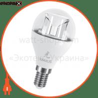 LED лампа 6W яркий свет G45 Е14 220V (1-LED-434)