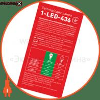 led лампа 6w яркий свет g45 е27 220v (1-led-436) светодиодные лампы maxus Maxus 1-LED-436