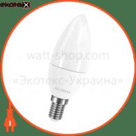 led лампа global c37 cl-f 5w теплый свет e14 (1-gbl-133) светодиодные лампы global Global 1-GBL-133