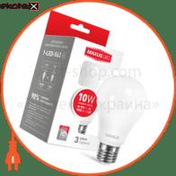 LED лампа MAXUS A60 10W яркий свет,E27 (1-LED-562)