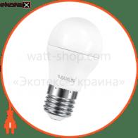 лампа світлодіодна g45 f 6w 3000k 220v e27 светодиодные лампы maxus Maxus 1-LED-541