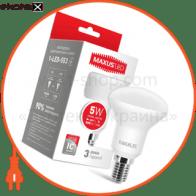 LED лампа MAXUS R50 5W мягкий свет 220V E14 (1-LED-553) (NEW)