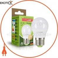 """EUROLAMP LED Лампа ЕКО серія """"P"""" G45 5W E27 3000K"""