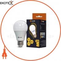 Лампа LED А60 12Вт Е27 2700K ELCOR