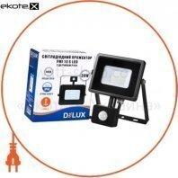 Прожектор светодиодный FMI 10 S LED 20Вт 6500K IP44 с датчиком движения