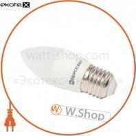 Лампа светодиодная евросвет 6Вт 4200К С-6-4200-27 E27