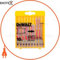 Набор полотен пильных для металла DeWALT DT2292