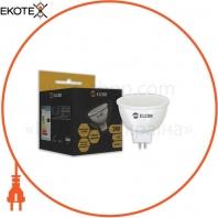 Лампа LED MR16 3Вт GU5.3 2700K ELCOR