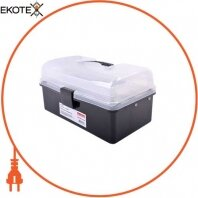 Ящик для инструментов, e.toolbox.13 BLACK, 225х130х115мм