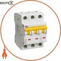 Автоматический выключатель ВА47-60 3Р 10А 6кА D IEK