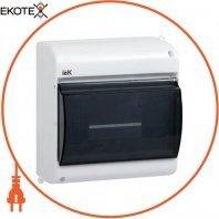 Бокс с прозрачной крышкой КМПн 2/4 для 4-х автоматических выключателей наружной установки IEK