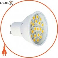 Лампа светодиодная MR16 e.save.LED.GU.10.20.3.6000 20led, 3Вт, 6000К (PC)