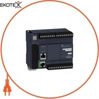 Компактный Базовый блок M221-24IO реле Ethernet