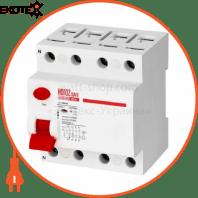 Дифференциальный автоматический выключатель 4Р 80А 30mA 230V