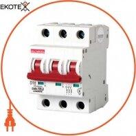 Модульный автоматический выключатель e.industrial.mcb.100.3.D.10, 3р, 10А, D, 10кА
