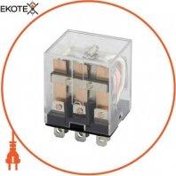 Реле проміжне e.control.p1035, 10А, 110В AC, на 3 групи контактів