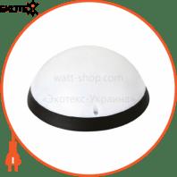 Светильник пластиковый Акуа Опал Полнолуние LED 12W черный