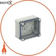 Пластиковая коробка прозрачная PK-UL IP66 192x164x105