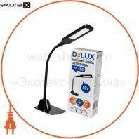 Светильник светодиодный настольный Delux TF-450 5Вт 4000K черный