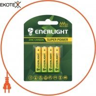 Батарейка ENERLIGHT Super Power AAA BLI 4