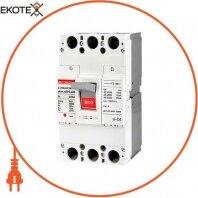 Силовой автоматический выключатель e.industrial.ukm.400S.300, 3р, 300А