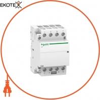 Модульный контактор iCT63A 4НО 24В АС 50ГЦ