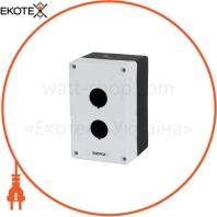 Корпус поста кнопочного ENERGIO 2 места IP40 белый