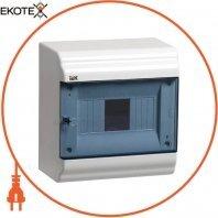 Бокс ЩРН-П-6 модулей навесной пластик IP41 PRIME IEK
