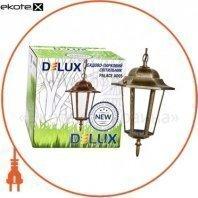 світильник садово-парковий PALACE A005 60Вт Е27 чорний-золото