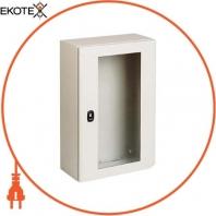 Шкаф S3D с прозрачной дверью 4х3х2