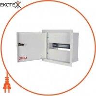 Шкаф распределительный e.mbox.RP-6-P мет. встраиваемый, 6 мод. 215х150х125 мм