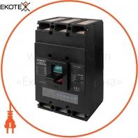 Силовой автоматический выключатель e.industrial.ukm.1250Re.1250 с электронным расцепителем, 3г, 1250А