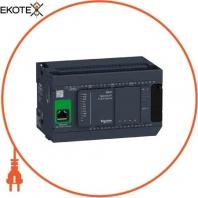 Базовый блок M241-24 вход/выход , транзисторный источник Ethernet