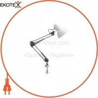 Настольная лампа 60W E27 220-240V белая
