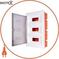 Корпус пластиковый 36-модульный e.plbox.stand.w.36, встраиваемый
