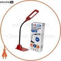 Светильник светодиодный настольный Delux TF-450 5Вт 4000K красный