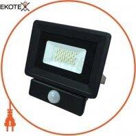 Светодиодный прожектор Venom SMD 20Вт Standart 6000K с датчиком движения (S4-SMD-20-Slim-S)