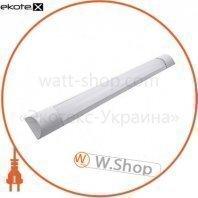 Светильник светодиодный линейный евросвет 18Вт 6400К EV-HX-18 1350лм IP20