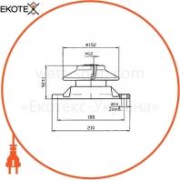 Изолятор фарфоровый ИО-3-600 У1