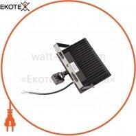 Прожектор світлодіодний ЕВРОСВЕТ 50Вт з датчиком руху EV-50-504D 6400К 4500Лм